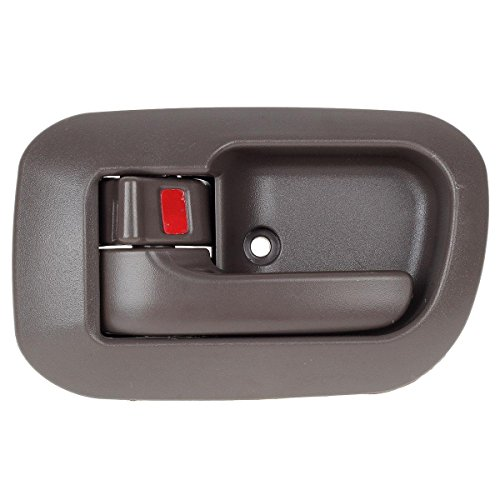 AUTEX Brown Interior Door Handle for 1998 1999 2000 2001 2002 2003 Toyota Sienna-Front Left Driver Side (Toyota Sienna Left Door Mirror)