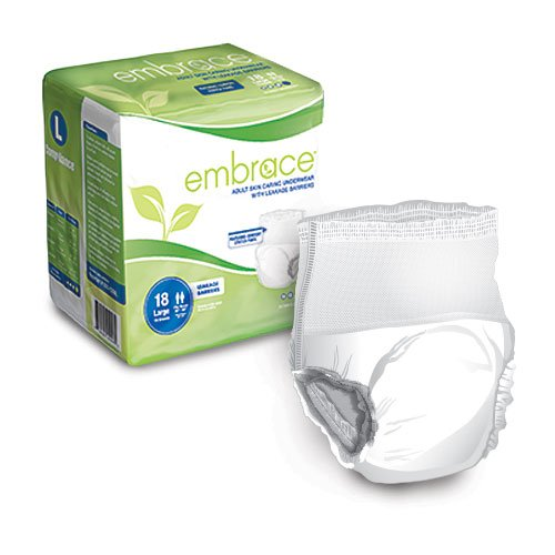 Embrace Adult Skin Caring Underwear with Leakage Barriers -