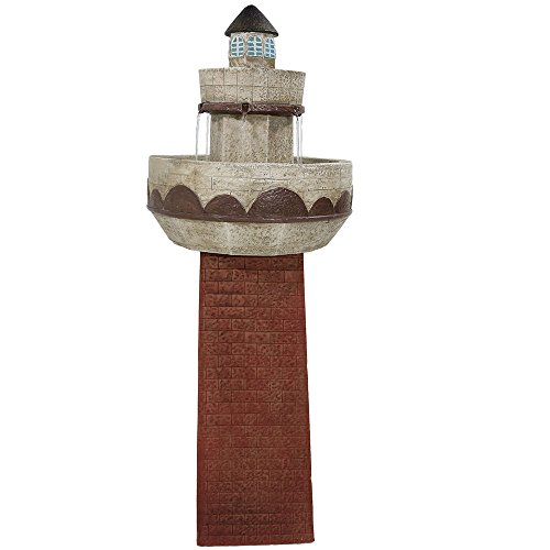 Lighthouse Fountain With Led Light