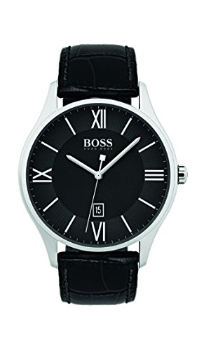 Hugo Boss 1513485 Black 44mm Stainless Steel Governor Men's Watch