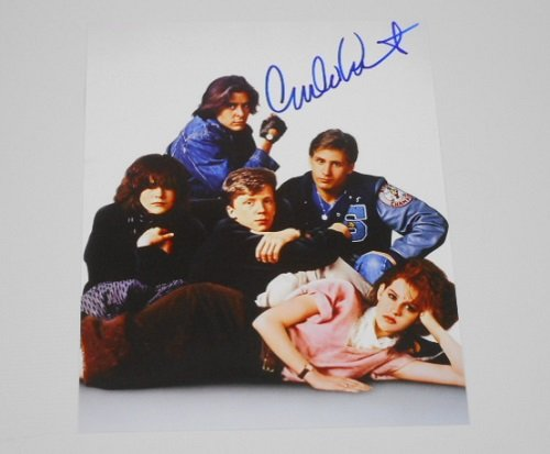 The Breakfast Club Emilio Estevez Hand Signed Autographed 8x10 Glossy Photo Loa