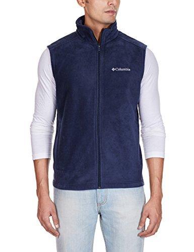 Zip Front Fleece Vest - 7