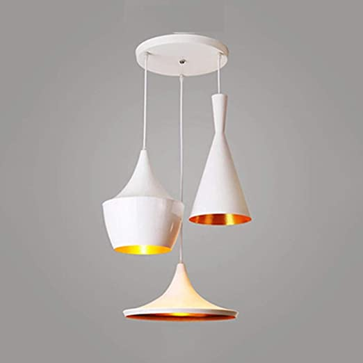 IUYWL Lámparas De Techo, Lámparas De Araña De Barras Creativas ...