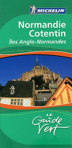 Guide vert Michelin Normandie Cotentin