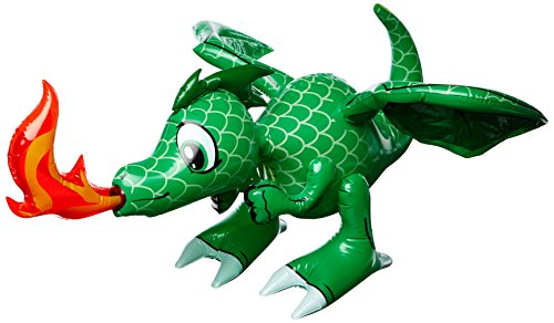 Fire Breathing GREEN Dragon Inflatable
