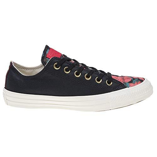 Donna black Chuck 001 Taylor Converse Multicolore egret Da Ctas Basse cherry Ox Scarpe Ginnastica Red 8FvqR