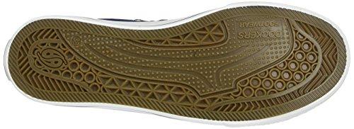 Dockers by Gerli 36UR201-710500 - zapatilla deportiva de lona mujer Azul (Navy)