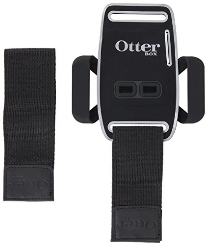 OtterBox Universal Armband for 4''-5'' Smartphones - Retail Packaging - Black by OtterBox (Image #2)