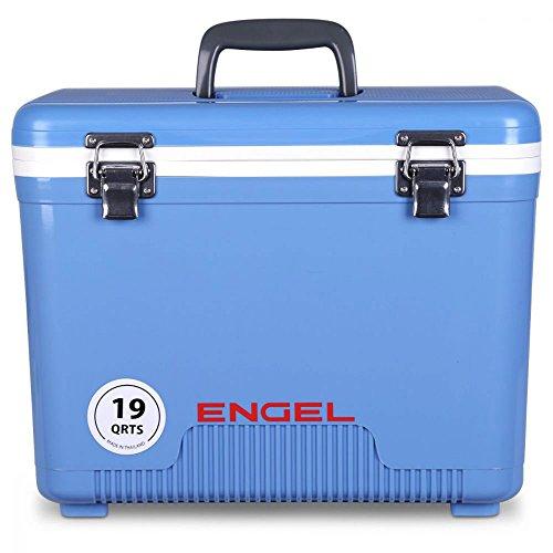 Engel Cooler/Dry Box 19 Qt - Blue by Engel