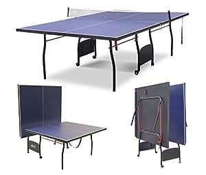 HLC Mesa de Pingpong, Plegable y Ajustable, con Ruedas Modelo!274 * 152.5 * 76cm
