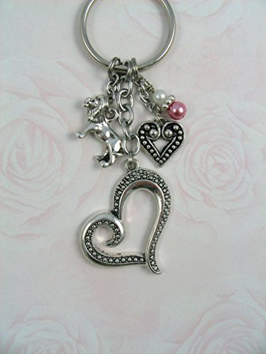 Phi Charm Keychain - Phi Mu Lion Charm Keychain OFFICIALLY LICENSED product