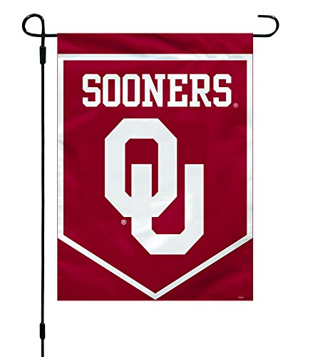 Fremont Die NCAA Oklahoma Sooners Garden Flag, 12