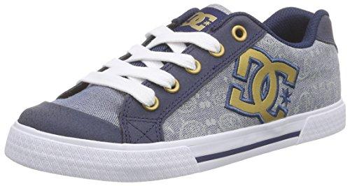 DC Femme J Se Isb Bleu Shoes Basses Shoe Blau Chelsea Baskets 4r64wq