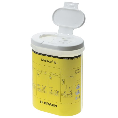 Medibox® Kanülenabwurfbehälter - 5 Liter - 1 Stück