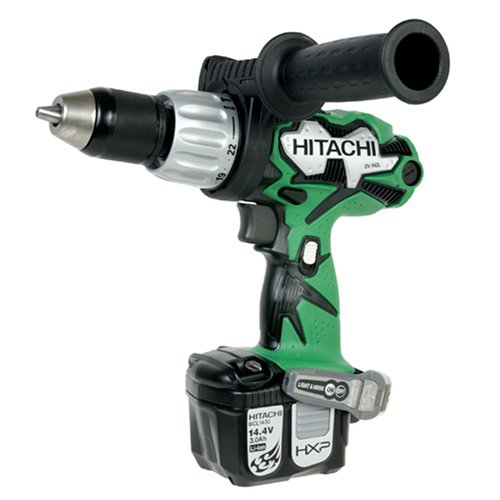 - Hitachi DV14DL 14.4-Volt Lithium Ion Cordless Hammer Drill  (Discontinued by Manufacturer)
