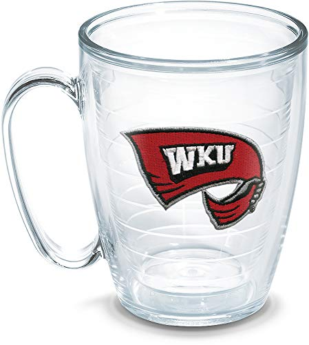 (Tervis Western Kentucky University Emblem Individual Mug, 16 oz, Clear)