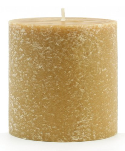 Candle Beeswax Pillar (Root Candles Unscented Timberline Pillar Candle , 3 x 3-Inches , Beeswax)
