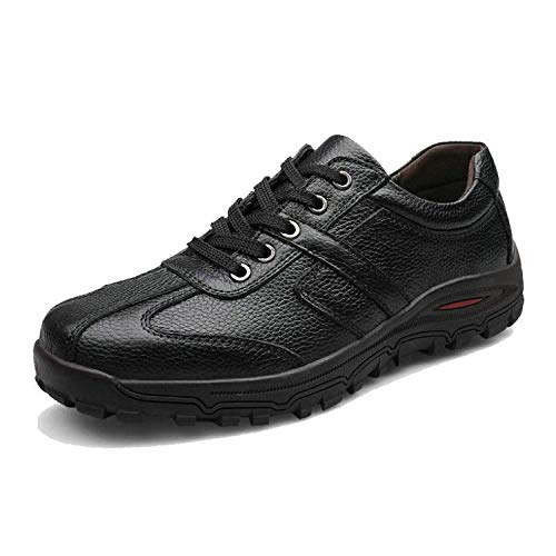 Fashion Handmade Brand Genuine Leather Men Flats,Soft Leather Men Male Moccasins, Men Shoes,Black,14