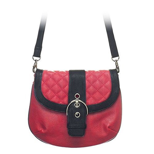 Grace Adele Leigh Red Clutch