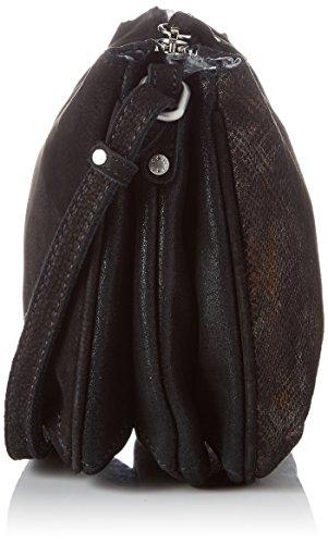 Mujer 3261crb noir Repti 01 Negro Bolso Louise Olef cuir Mila Bandolera wqg6UYzzx