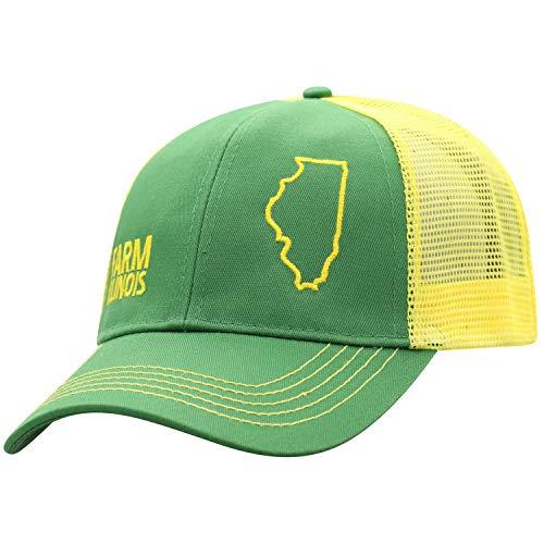 John Deere Farm State Pride Cap-Green and Yellow-Illinois (John Deere 440 Log Skidder For Sale)