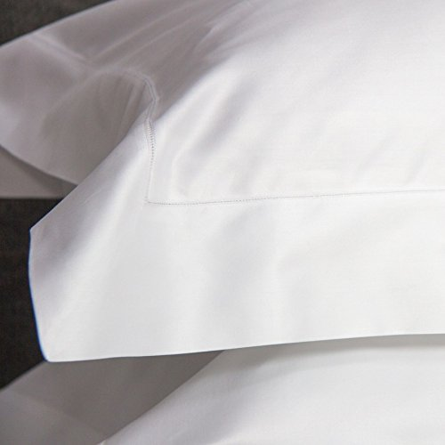 Society Sateen - White - King Case Pair by LINEN SOCIETY (Image #2)