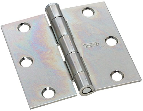 Stanley Hardware S751-475 CD804 Loose Pin Utility Hinge in Zinc plated (Plated Loose Pin Hinges)