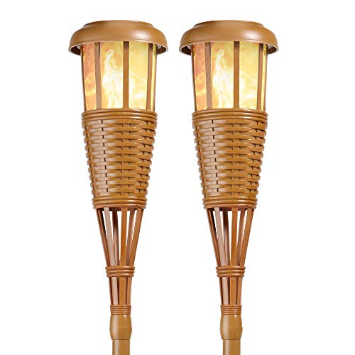 Bamboo Solar Light in US - 4