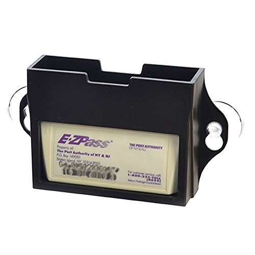 EZ Pass Toll Tag Holder,Fits New & Old Transponder,i-Pass,i-Zoom, - Pass Toll Holder