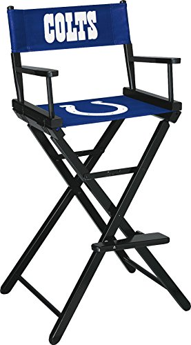 Imperial Officially Licensed NFL Merchandise: Directors Chair (Tall, Bar Height), Indianapolis Colts