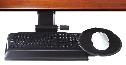 Clip Mouse Keyboard System High Clip Mouse: 8.5'' Mousing Surface, Synthetic Leather Palm Support: Foam Core
