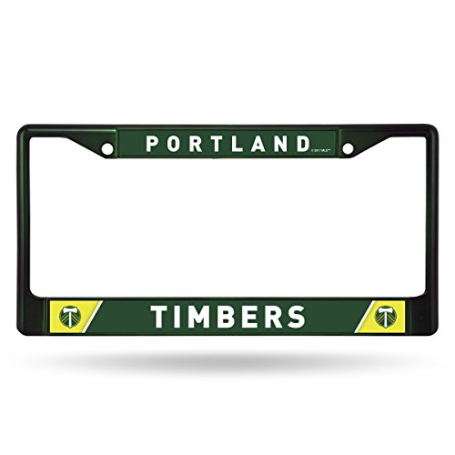 MLS Portland Timbers Colored Chrome Plate Frame, Green, 12-inch by - Portland Frames