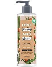 Love Beauty and Planet Masło shea i olejek z drewna sandałowego wegański balsam do ciała 400 ml