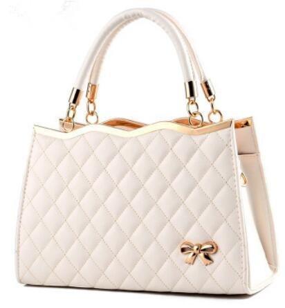 Cuero Señora La Bolsa 20cm Ldmb Mujer 10 En De Meters Bolsos Messenger Bag Hombro Pu Del White Bolso Para Relieve Arco Zipper 30 SvqfXS