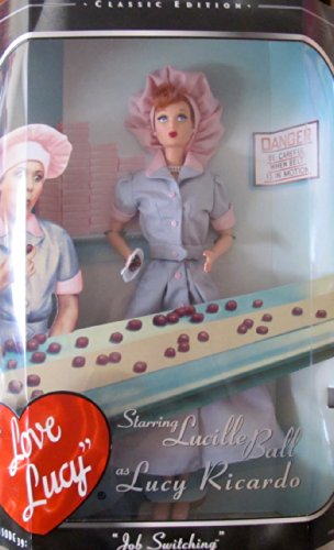 Barbie I LOVE LUCY Doll 'JOB SWITCHING' Episode 39 CLASSIC EDITION (1998) - Hat Love Chefs I Lucy