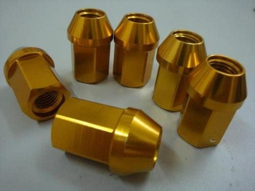 Buyer needs to review the spec 1 Set of 20 yellow 1//2-20 Wheel Lug Nuts fit 2005 Jeep Grand Cherokee May Fit OEM Rims