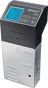 Steba SV 100 PROFESSIONAL - Hervidor de agua (Negro, Acero inoxidable, LCD)