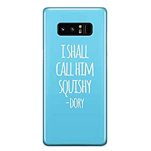 Loud Universe Dory Ellen Quote Samsung Note 8 Case Finding Nemo Blue Samsung Note 8 Cover with 3d Wrap around EdgesSamsung Note 8 Case - Samsung Note 8 Cover with 3d Wrap around Edges