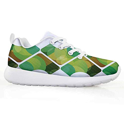 Price comparison product image Abstract Children Running Shoes Triangular Shapes in Symmetrical Order Abstract Fantasy Elements PRI
