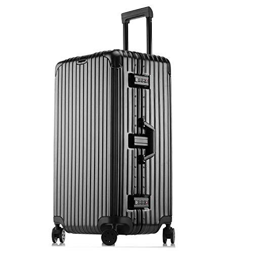 [해외]Kroeus (클로스) 가방 운반 케이스 신형 스포츠 용 대용량 ABS + PC 몸 매트 가공 TSA 자물쇠 장착 해외 여행 출장 1 년 보증 첨부 / Kroeus Suitcase Carry Case New Sport Type Large Capacity ABS+PC Body Mat Processing With TSA Lock Overseas...
