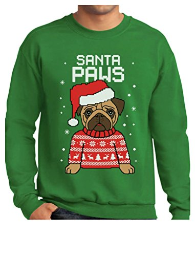 TeeStars Santa Christmas Sweater Sweatshirt product image