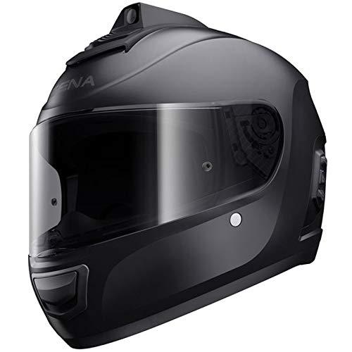 Sena Momentum INC Pro Bluetooth w/Integrated QHD Camera Helmet - Matte Black - XL (Integrated Bluetooth)