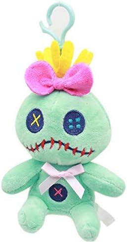 Tiger Cat Plush Key Chain Doll Plush Stuffed Toy Pendant Wedding Bouquet、Pop
