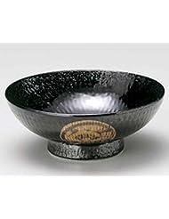 Hikide Monyo 7 1inch Set Of 5 Ramen Bowls Black Ceramic Made In Japan