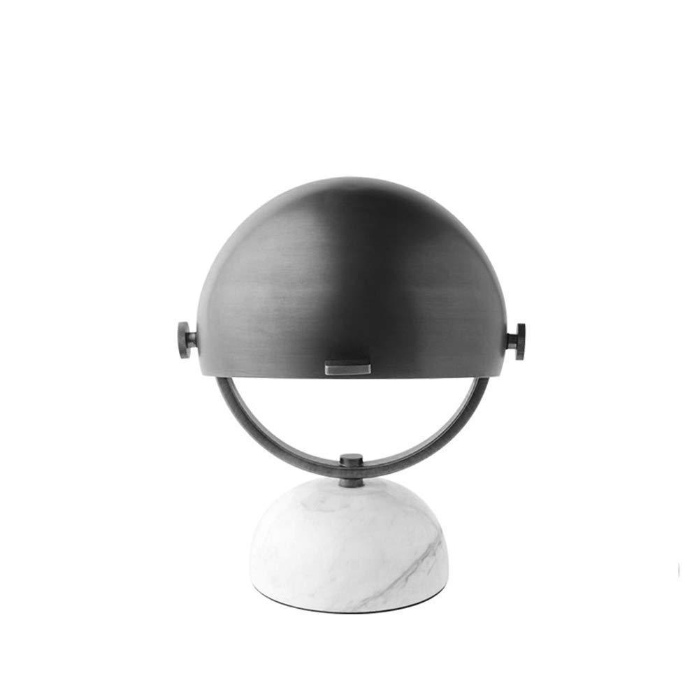 Eroscc モダンなミニマリストスタイルのデスクランプメッキブロンズ錬鉄製のテーブルランプ調節可能な読書ランプ用会議室寝室パーラーオフィスホテル(黒)   B07QWQQRN6