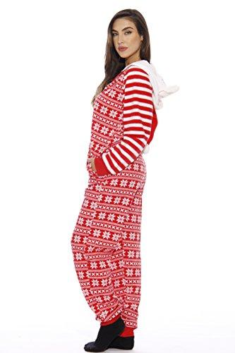70827549cb Aeropost.com Turks   Caicos - Just Love Holiday Santa Adult Onesie ...