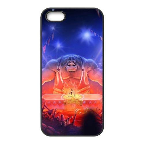W3D87 légendes de rayman E1P6NR coque iPhone 5 5s cellulaire cas de téléphone couvercle coque noire DH7JTE9TN
