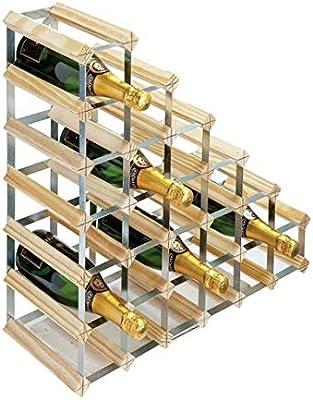 RTA - Botellero de 27 botellas para debajo de escaleras: Amazon.es: Hogar