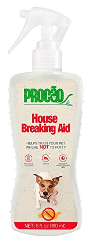 ainer House Breaking Aid No Go - 6 fl oz bottle - Indoor or Outdoor Use, Teaches Pets Where Not To Go, and Shortens Potty Training Time - Repels Pups to From No Go Zones (Indoor Pet Deterrent)
