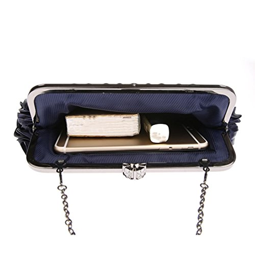 ZYXCC Women's bag Blue Elegant bag bag evening evening bag Messenger Luxury Fashion SHISHANG SqgfP4q